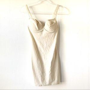 Nancy Gantz Bodyslimmers Shapewear Nude Size 34B